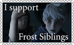 Stamp - I support Frost Siblings