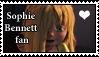 Stamp - Sophie Bennett fan by LordBlackTiger666