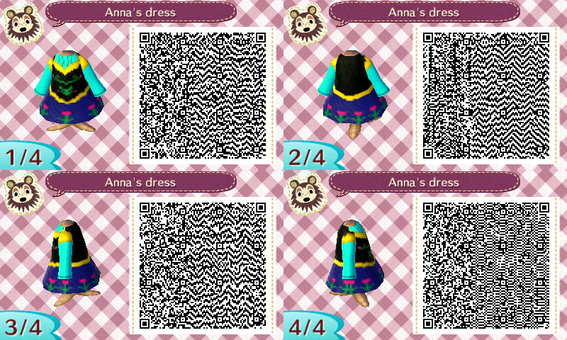 Animal Crossing New Leaf Anna's Dress By LordBlackTiger40 On Delectable New Leaf Sewing Machine
