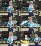 MMD Frozen-PKMN Comic - The butterfly effect