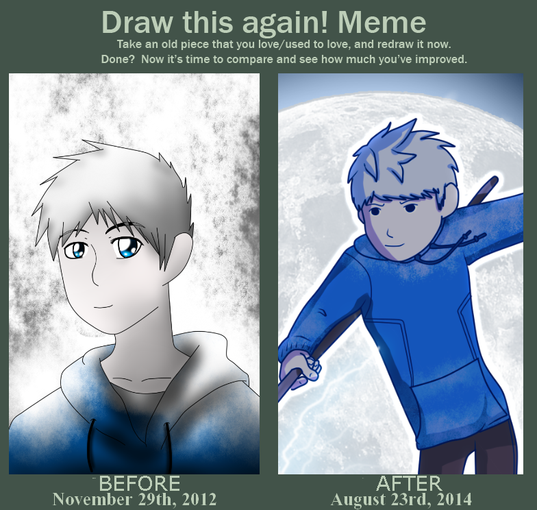 Draw this Again - Jack Frost by JackFrostOverland