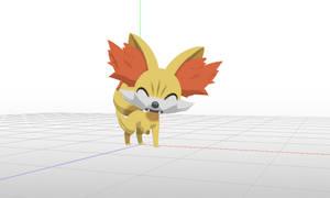 MMD Pokemon - Fennekin facials added ! (DL soon)