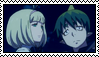 Stamp - Blue Exorcist - Amaimon X Shiemi by LordBlackTiger666