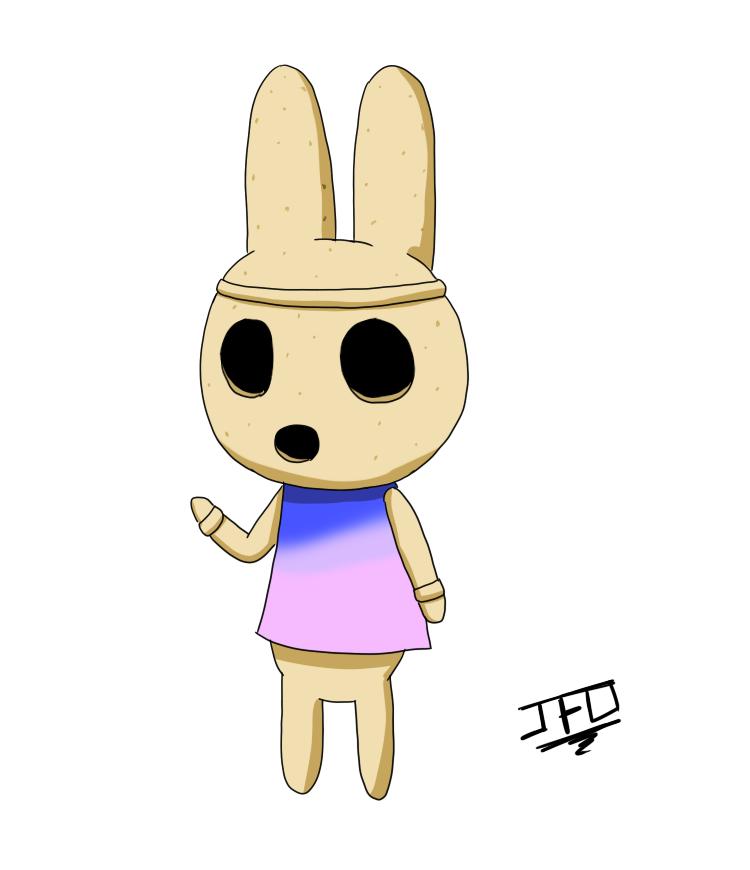 Animal Crossing - fan art - Coco by JackFrostOverland