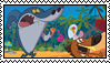 Stamp - Zig and Sharko fan by LordBlackTiger666