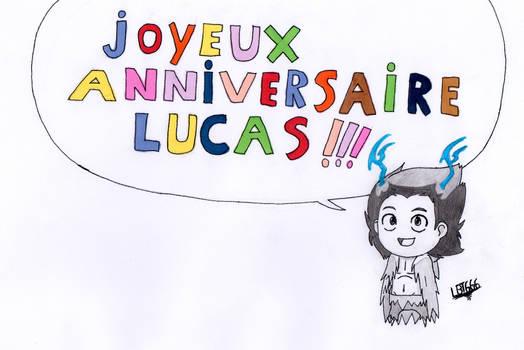 My birthday! / Mon anniversaire!