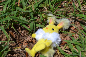 Jolteon Calico Critter pic 1 by Yo-Snap2