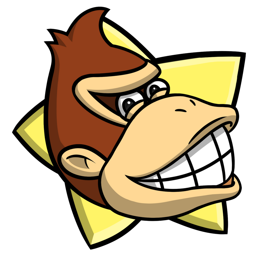 Mario Party - Donkey Kong Party Star by EnterMEUN