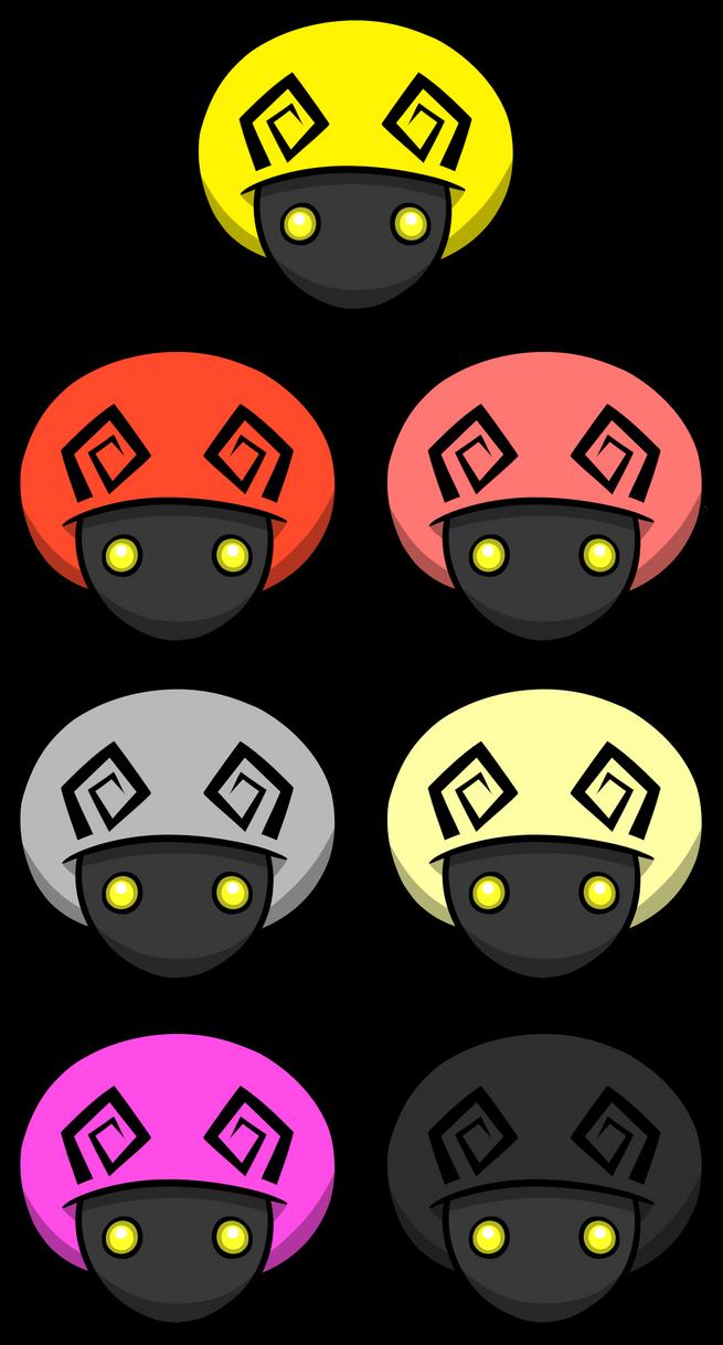 Kingdom Hearts Mushroom Symbols By Entermeun On Deviantart