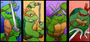 TMNT - Choose Your Character
