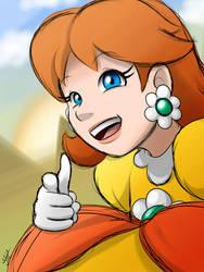 Mario - Princess Daisy by EnterMEUN