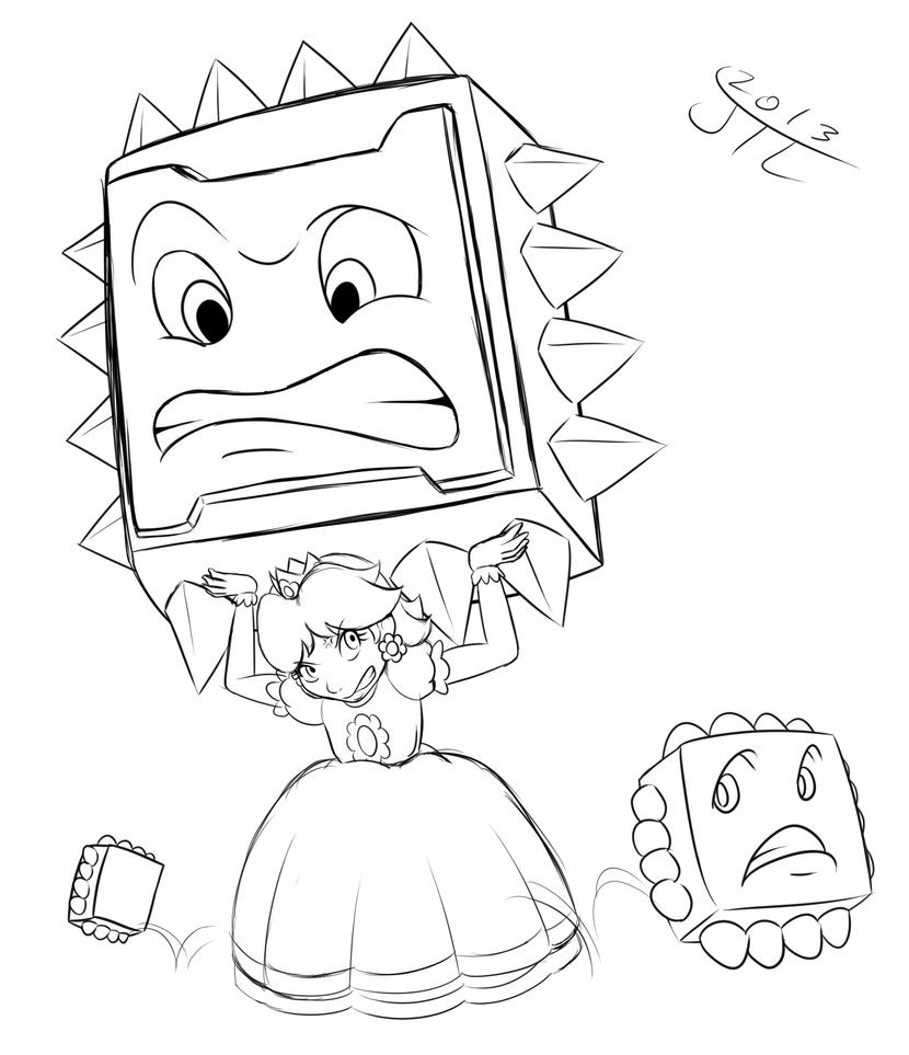 daisy mario coloring pages - photo#8