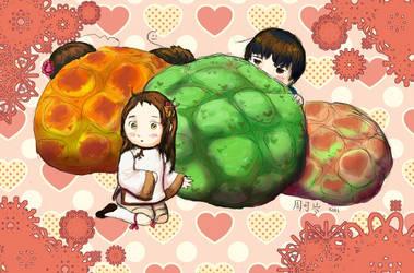 APH - Melonbread by kecen