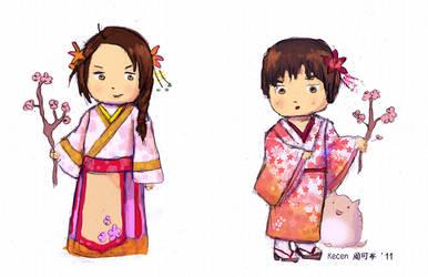 APH - Yao Kiku Spring Fling by kecen