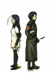 Repo x Hetalia - Mei and Kiku
