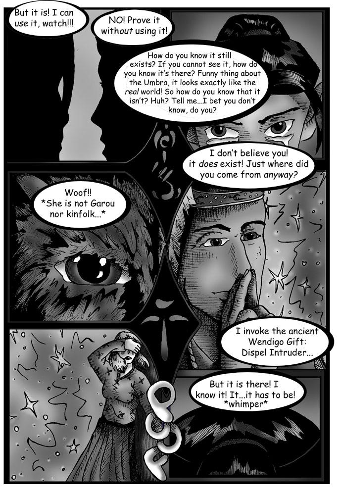 Umbra Comic - Page 6 by DragonPress