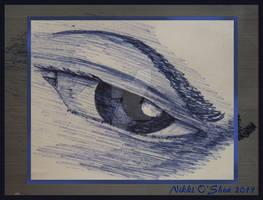 Behind Blue Eyes - Ballpoint