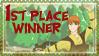 Sapphirahiro's 1st place stamp by DragonPress