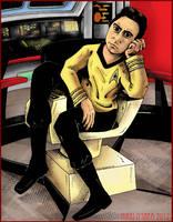 Star Trek Commission - Color by DragonPress