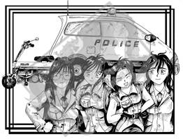 You're Under Arrest - Ink by DragonPress