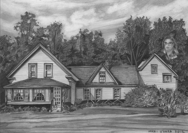 House in Pencil by DragonPress