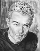 James Marstars Pencil Portrait by DragonPress
