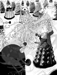 Taking on the Daleks: Power Pack/Doctor Who by DragonPress