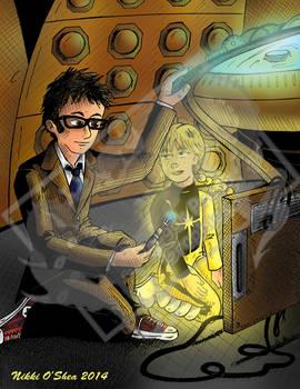 Human Flashlight : Dr Who/Power Pack