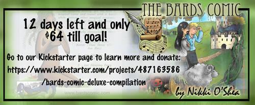 Bards Comic Deluxe Kickstarter