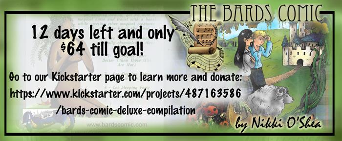 Bards Comic Deluxe Kickstarter by DragonPress