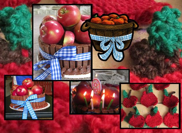 Apple Birthday Collage by DragonPress