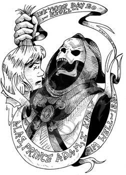 Inktober Day 20 - Skull