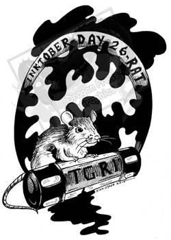 Inktober Day 26 - Rat