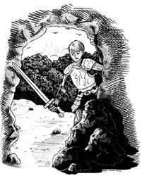 SPN AU BB - Dean in Armor by DragonPress