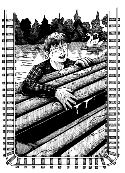 Looking for a Sign - PaddleBoat by DragonPress