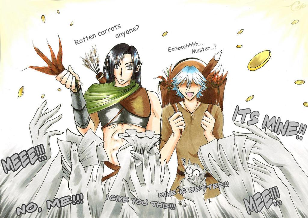 Rotten Carrots [Dragons Dogma] by SeraphEdo