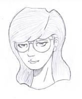 Daria Sketch by beatnikshaggy