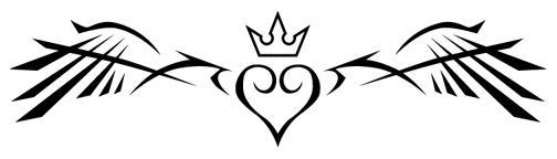 Kingdom Hearts Tattoo by beatnikshaggy
