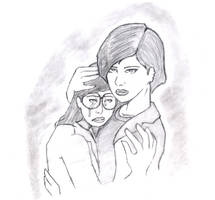 Daria and Jane cry by beatnikshaggy
