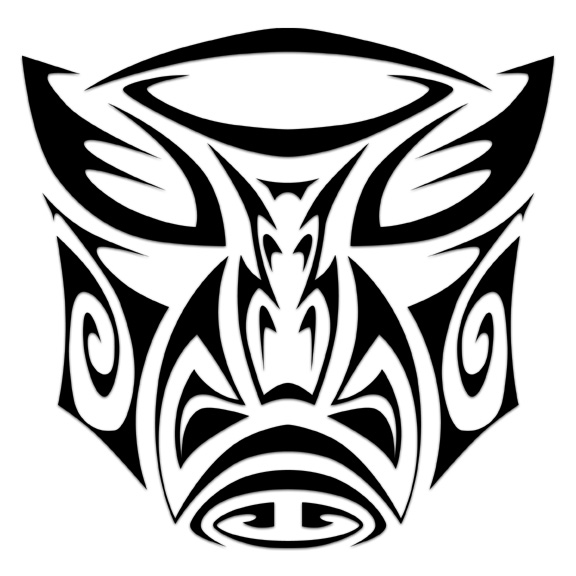 autobot tribal tattoo by beatnikshaggy on deviantart. Black Bedroom Furniture Sets. Home Design Ideas