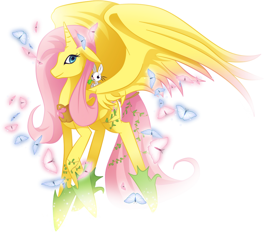 Fluttershy, my true Princess by MimiPony