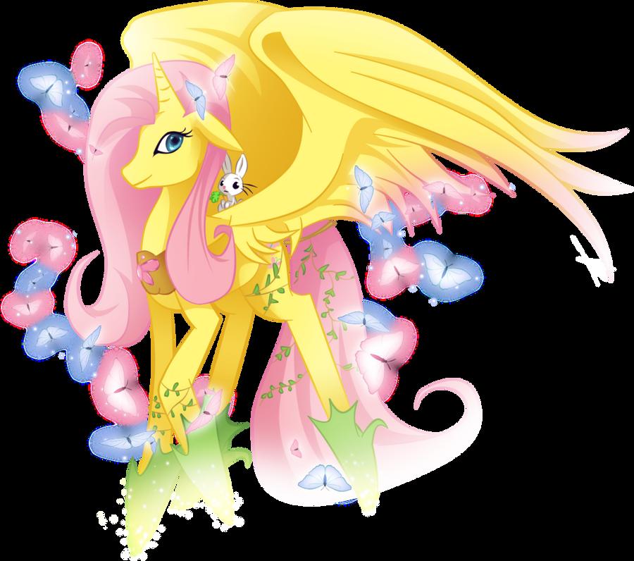 fluttershy__my_true_princess_by_mimipony