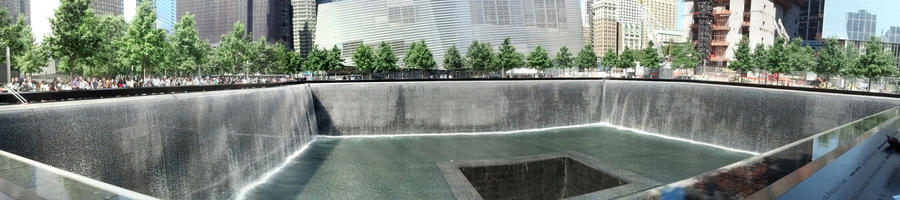 9/11 Waterfall