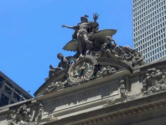 New York Grand Central Mercury/Clock
