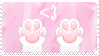 Toe Beans Stamp by Plippy-Kitty