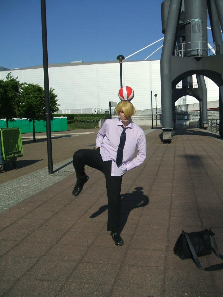 ball man sanji one piece mcm expo by jimmy wins over all on deviantart. Black Bedroom Furniture Sets. Home Design Ideas