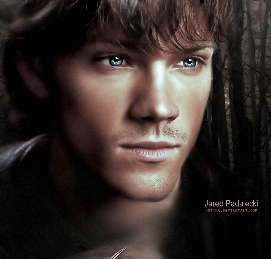 Supernatural \ Сверхъестественное - Страница 2 Jared_padalecki_sam_winchester_by_kot1ka-d3920on