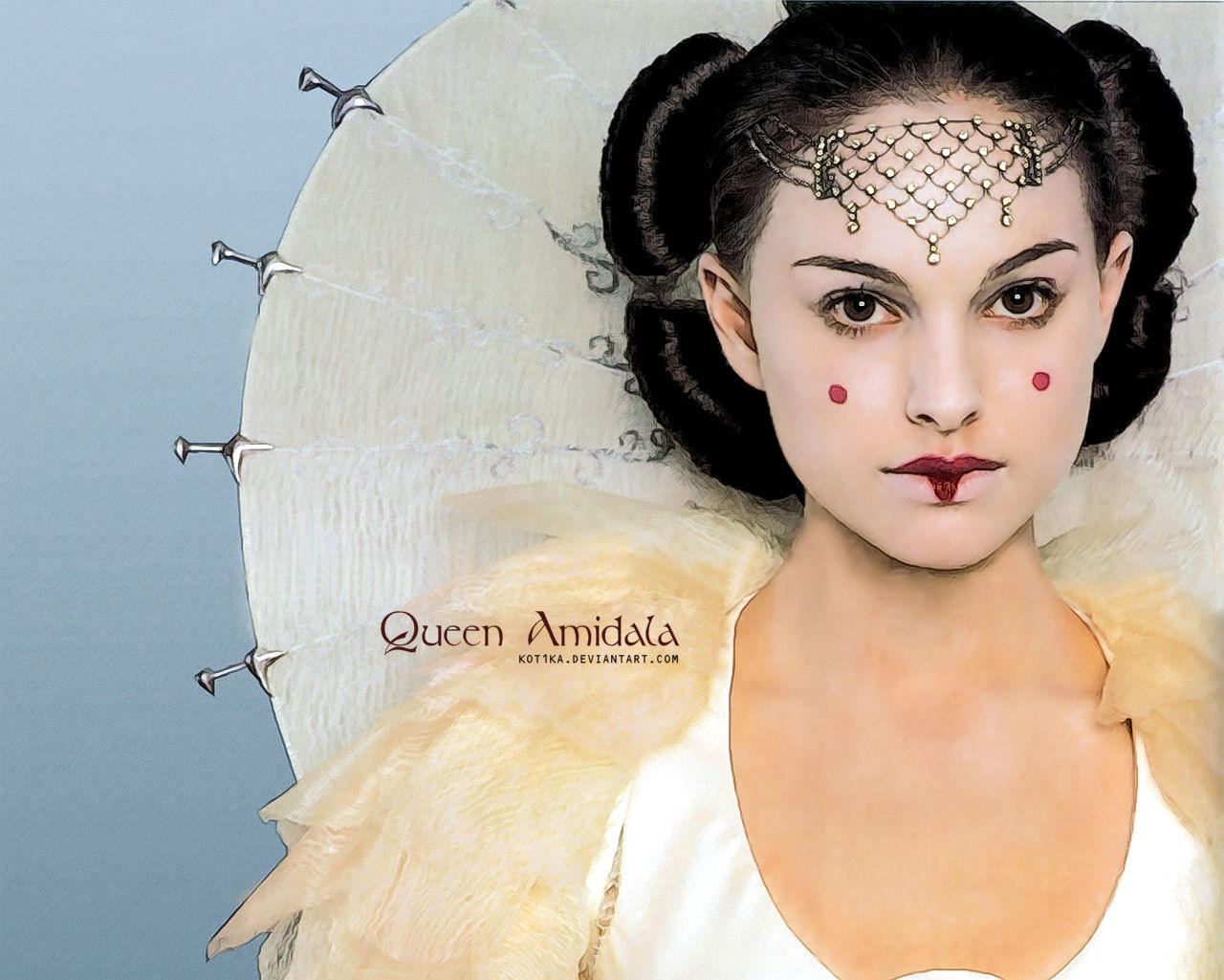 Queen amidala by kot1ka on deviantart - Princesse amidala ...