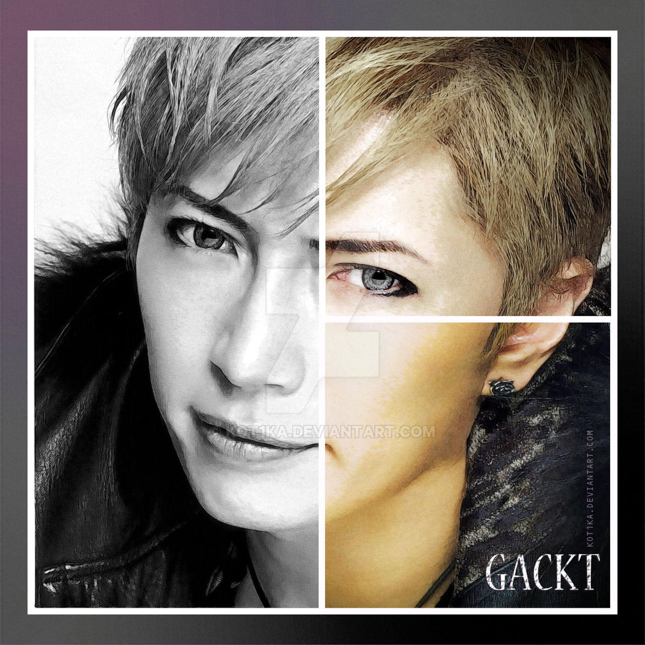 GACKT - Cover Page by Kot1ka