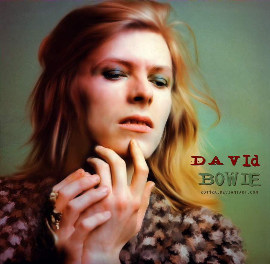David Bowie by Kot1ka